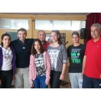 Εκδήλωση Βιβλίου| Ο Νίκος Μιχαλόπουλος στο 3ο Γυμνάσιο Αγ. Βαρβάρας